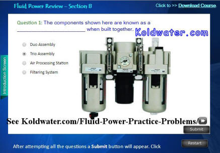 fluid power practice test